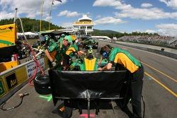 Team Australia crew members at work