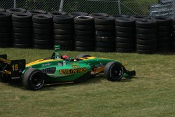 Simon Pagenaud off track