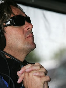 Jimmy Vasser can't wait for the session to end