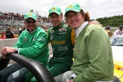 Drivers parade: Simon Pagenaud