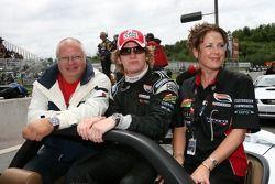 Drivers parade: Dan Clarke