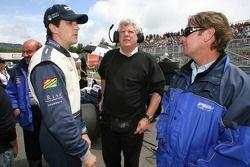 Pole sitter Tristan Gommendy with Jimmy Vasser
