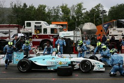 Pitstop for Graham Rahal