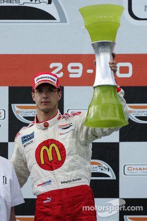 Podium: second place Sébastien Bourdais
