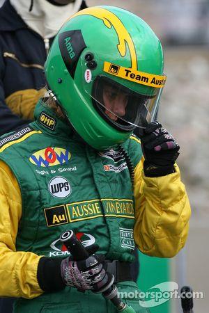 Team Australia crew member