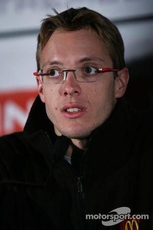 Press conference: Sébastien Bourdais