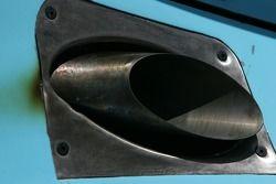 Detail of Graham Rahal's car