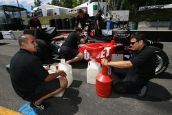 Minardi Team USA team members at work
