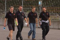 Track walk for Sébastien Bourdais