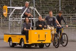 Track ride for Conquest Champ Car Atlantic team