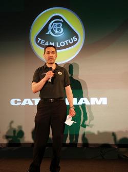 Ansar Ali, Caterham Cars