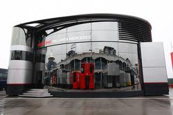 The Motorhome of McLaren Mercedes