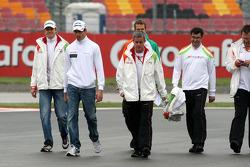 Nico Hulkenberg, Adrian Sutil, Force India F1 Team