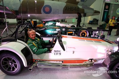 Team Lotus - Caterham Cars announcement
