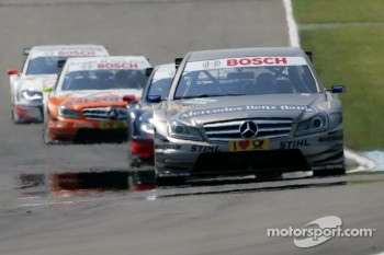 Mercedes and Spengler on pole at Zandvoort
