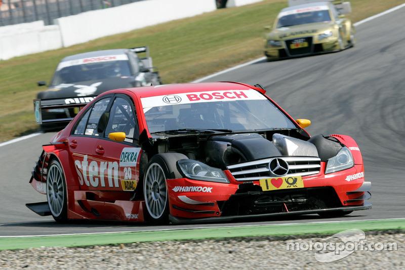 2011: Renger van der Zande (Mercedes) in Hockenheim