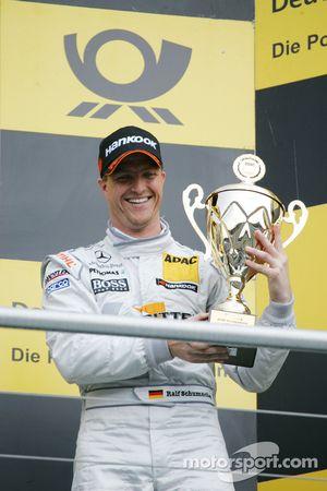 Third place Ralf Schumacher, Team HWA AMG Mercedes