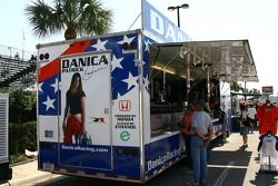Danica Patrick merchandising area