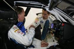 Uwe Alzen and Andy Priaulx