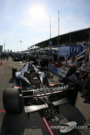 Zone des stands Pacific Coast Motorsports