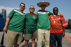 Happy Mexican fans