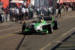 Unfortunate Jan Heylen will be the main victim of the 1st lap pile-up