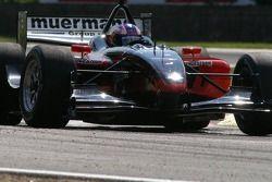 Practice at the Gilles Villeneuve chicane: Robert Doornbos