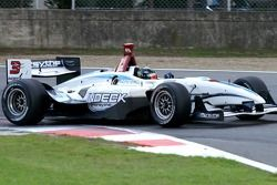 Paul Tracy in the early stage of the session