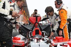 Minardi Team USA team members at work