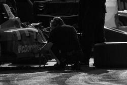 Newman Haas Lanigan Racing team member