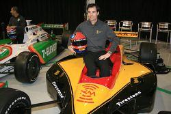 Bryan Herta in the No. 7 XM Satellite Radio Dallara Honda Firestone that he will drive in the 2006 season