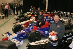 Le line-up de l'équipe Andretti Green Racing
