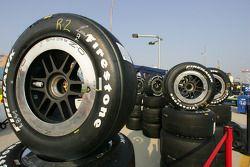 Les pneus Firestone sont prêts