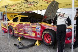 Crash Kurt Busch, Penske Racing Dodge
