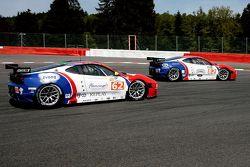 De CRS Racing Ferrari F430's