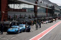 Team Felbermayr Proton Porsches