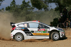 Mads Ostberg et Jonas Andersson, Ford Fiesta RS WRC, M-Sport Stobart Ford World Rally Team