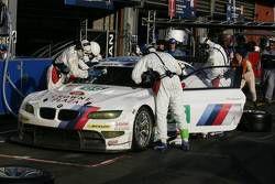 Pitstop #56 BMW Motorsport BMW M3 GT: Andy Priaulx, Uwe Alzen