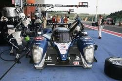Pitstop #8 Peugeot Sport Total Peugeot 908: Franck Montagny, Stéphane Sarrazin, Nicolas Minassian