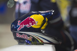 Helmet for a Kasey Kahne, Red Bull Racing Team Toyota crew member