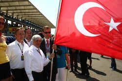 Bernie Ecclestone ve Turkish flag