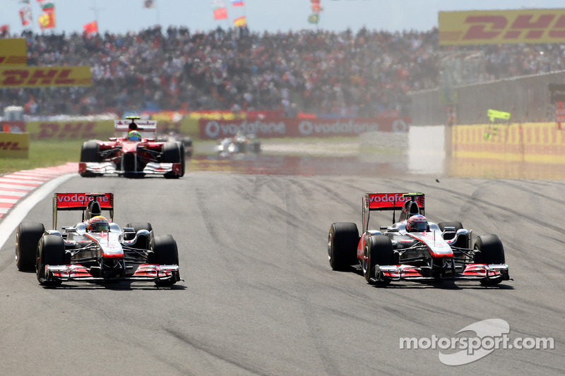 Lewis Hamilton, McLaren Mercedes, MP4-26, Jenson Button, McLaren Mercedes
