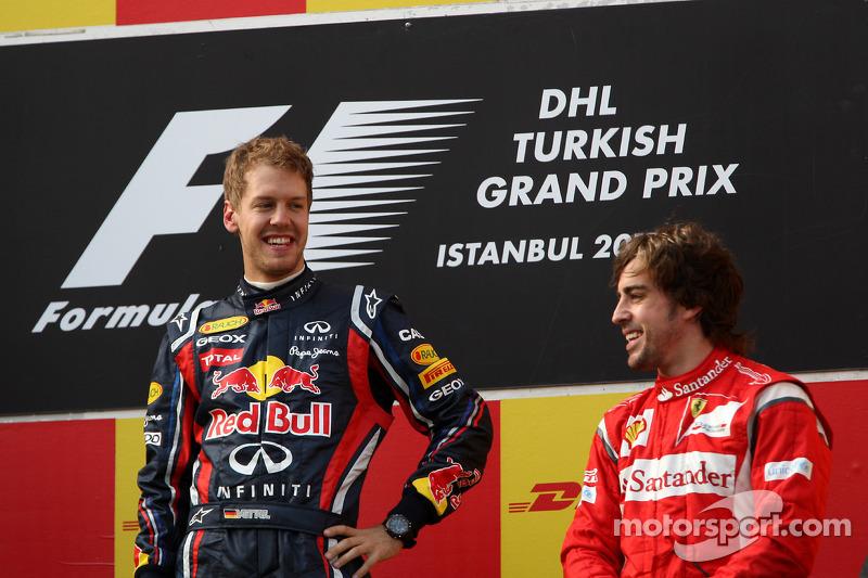 66- Fernando Alonso, 3º en el GP de Turquía 2011 con Ferrari