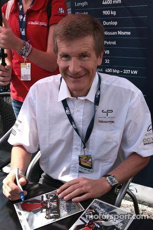 Voormalig F1 rijder en Le Mans winnaar, Thierry Boutsen