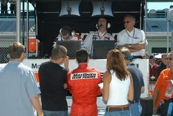 Gil de Ferran and Helio Castroneves