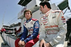 A.J. Foyt IV and Larry Foyt