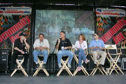 The ABC Sports team that covers Indycar action on the air answers questions from the audience for th