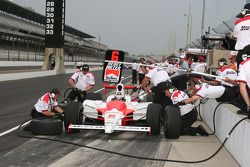 Practice pit stop for team Penske