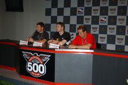 Press conference: Scott Sharp, Buddy Lazier and Richie Hearn