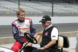 Kenny Brack and Rick Mears